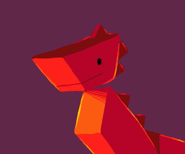 Polygonal Dinosaur