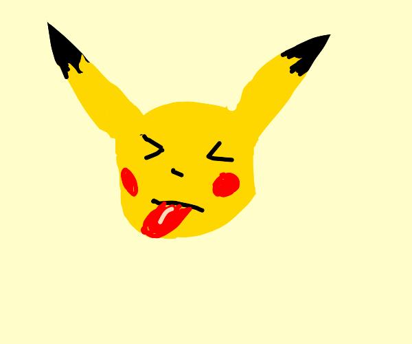 Rude Pikachu