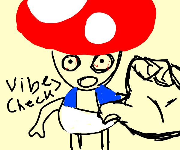 Toad Vibe Checks you