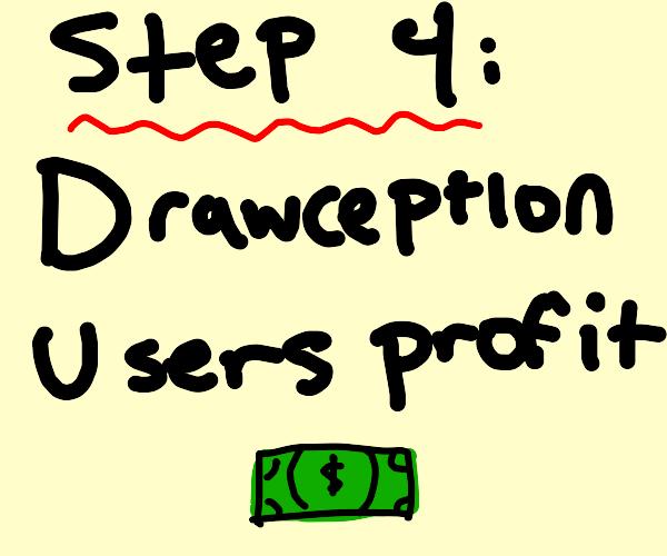 step 3: drawception users unionize