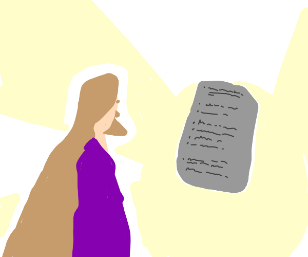 The 10 commandments and the bible guy