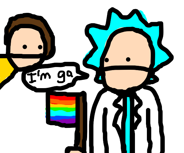 rick confesses to morty that he is in fact ga