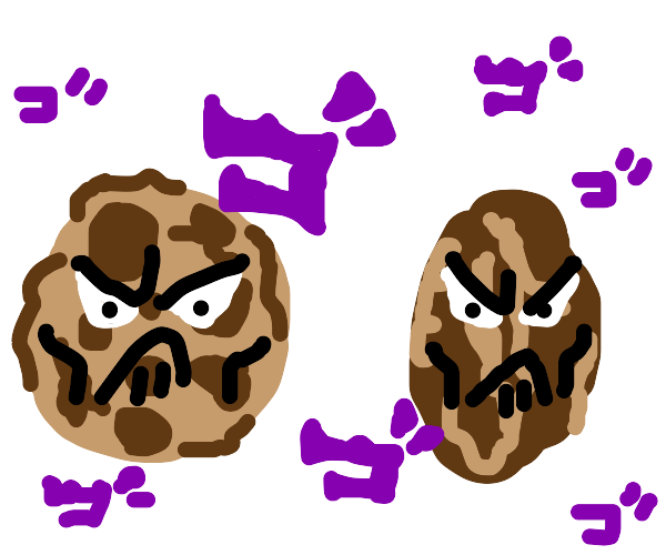 Cookie & coffee bean will mess you up