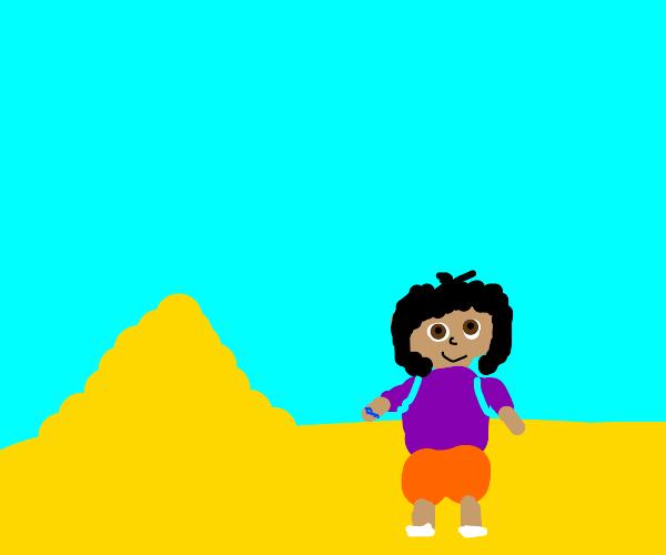Dora the Explorer explores Egypt