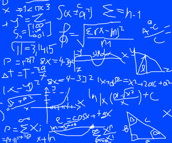 Terrifying math equation