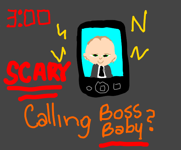 Calling Boss Baby at 3AM (SCARY)
