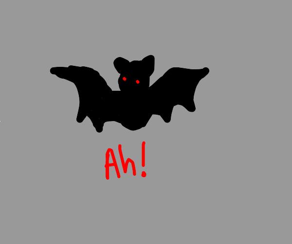 1! 1 bat! Ah ah ah!