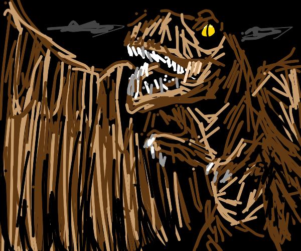 Advanced T-Rex has now wings