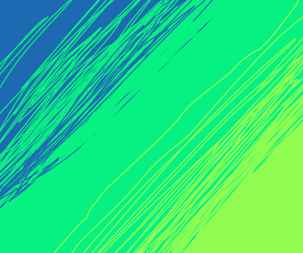gradient of colours