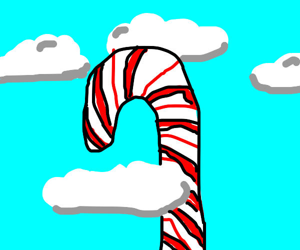 BIG candy cane