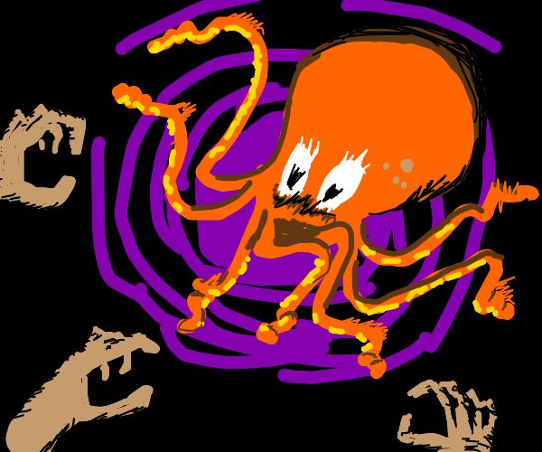 Octopus horror