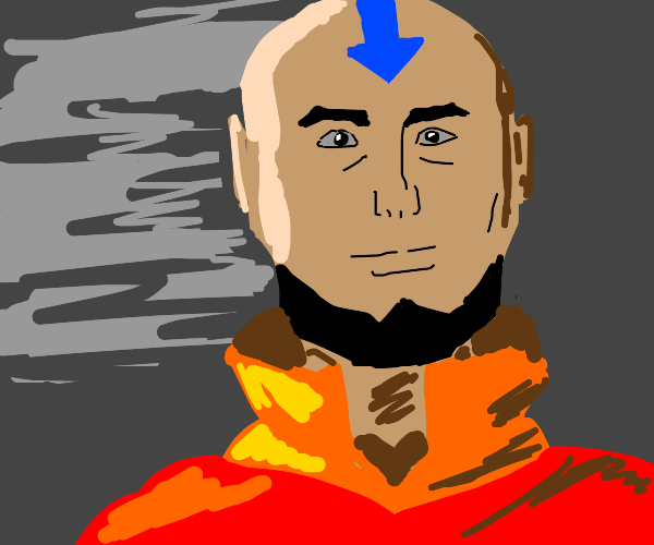 Aang in his 40s