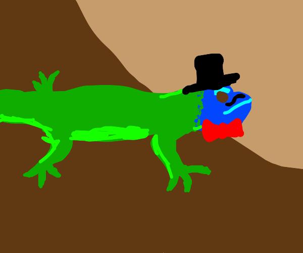 fashionable lizard