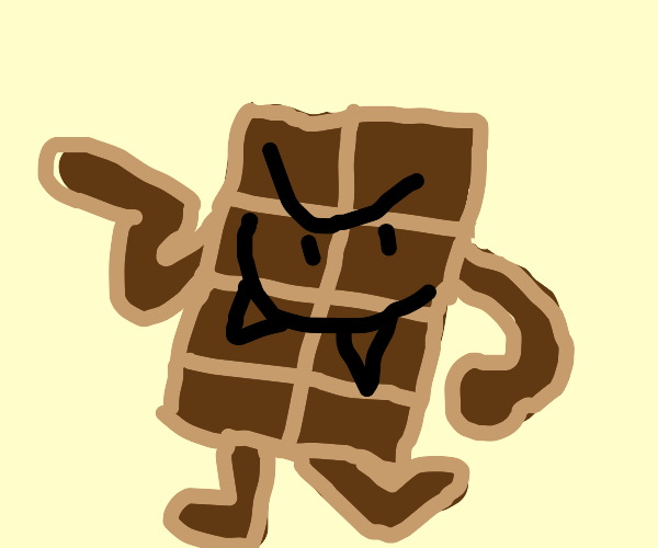 chocolate monster dancing