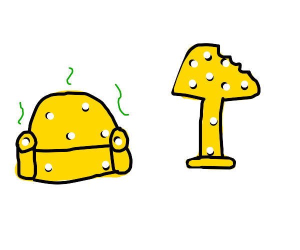 Cheese furniture