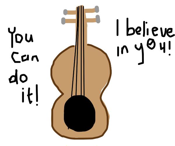 Motivational guitar
