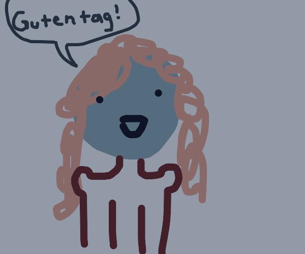 german lady