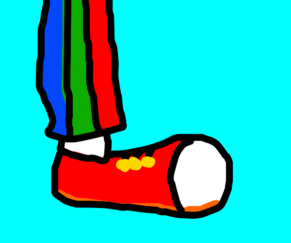 Clown shoe