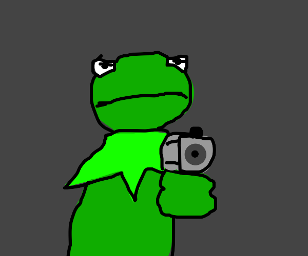 Angry Kermit