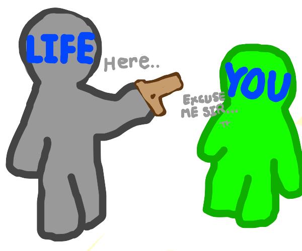 when life gives you a gun