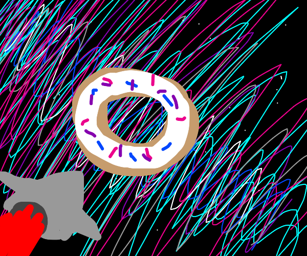 The Donut at the End of the Universe