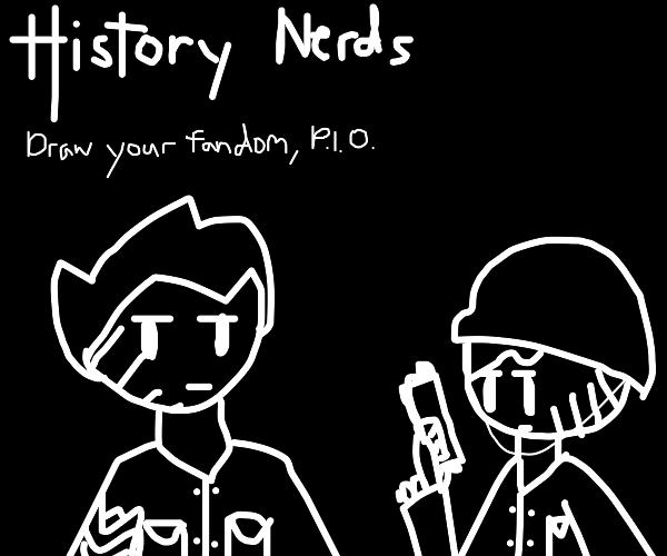 draw your fandom - PIO