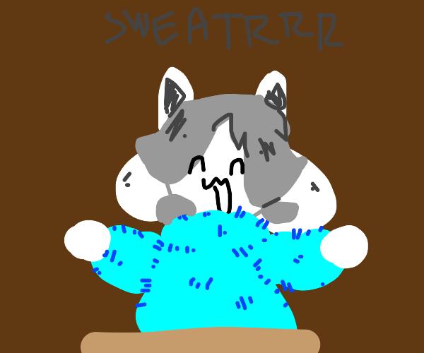 Temz haz fluff sweater (hOI!!!)