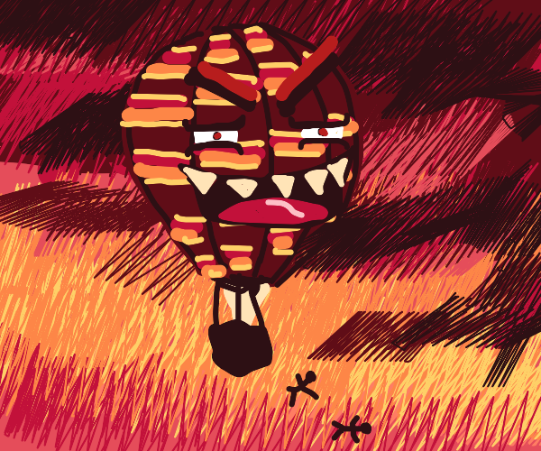 Murderous Hot Air Balloon