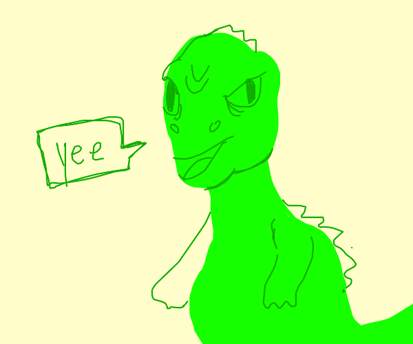 yee dinosaur