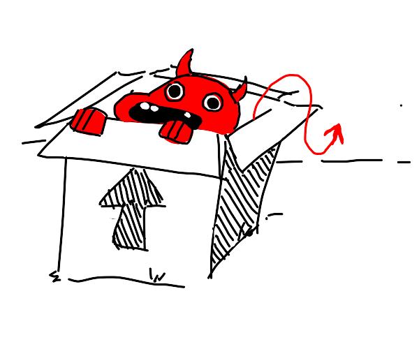 Box devil