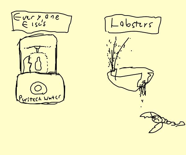 lobster discrimination