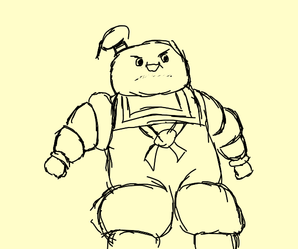 Marshmellow dude from Ghostbusters