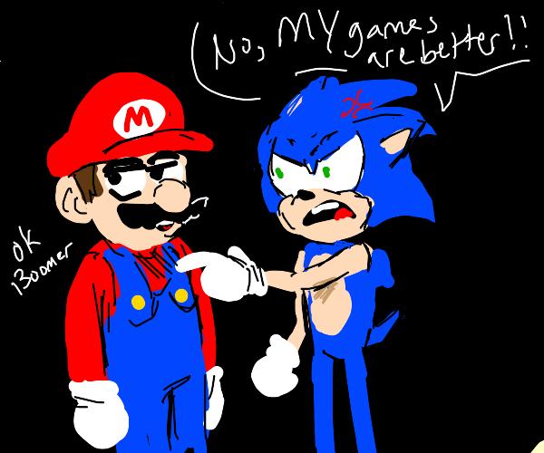 Salty Sonic