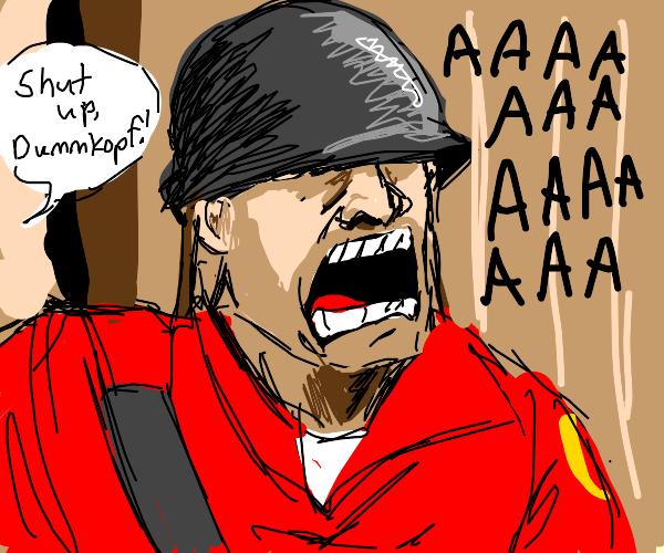 soldier tf2 screeam