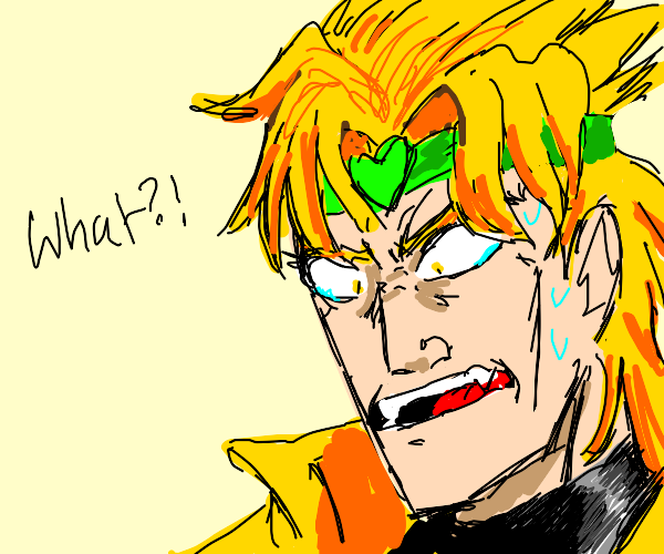 dio, you are not the father !