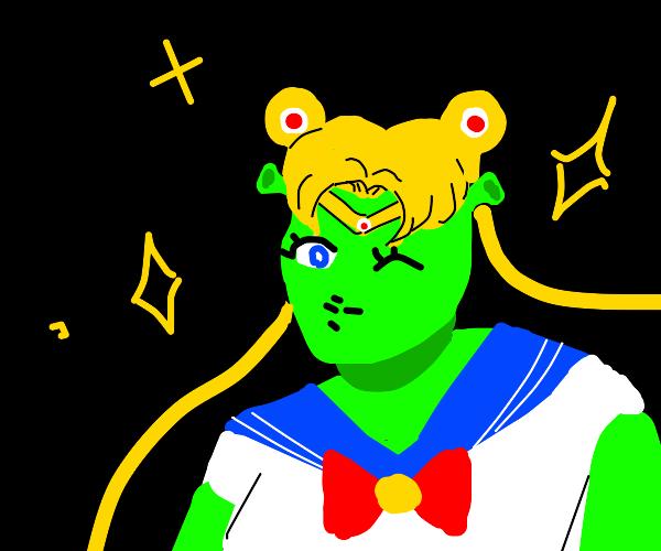 Sailor Moon became an Ogre!