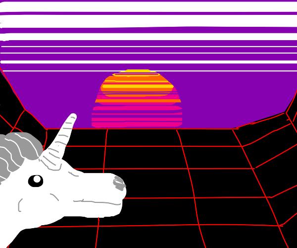 Retro Unicorn