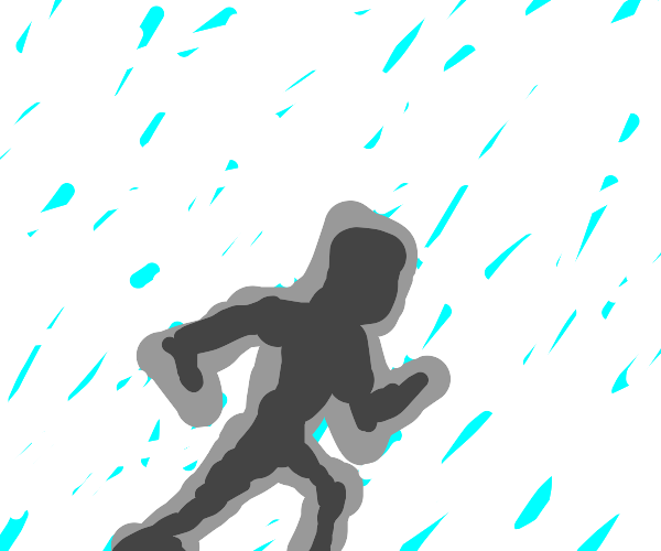 Knight in a Hailstorm