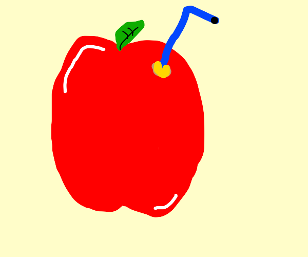 apple juice out of a apple