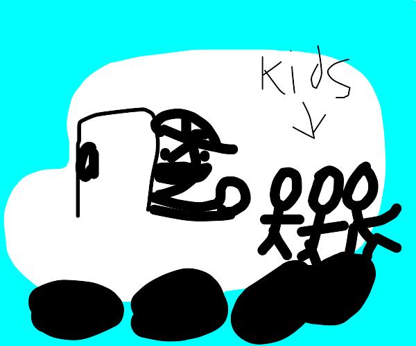 man in white van kidnapping children