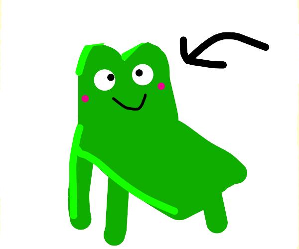 frog chair meme