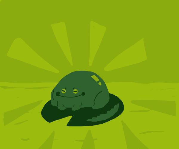 Froggy on a lilypad!