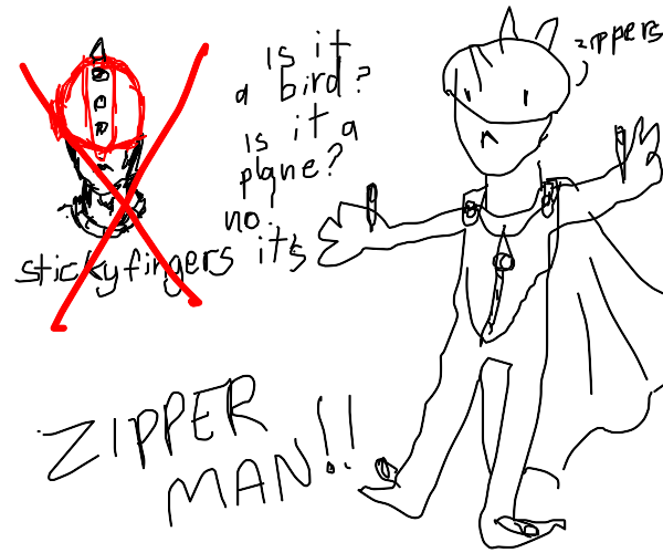 ZIPPER MAN jojo