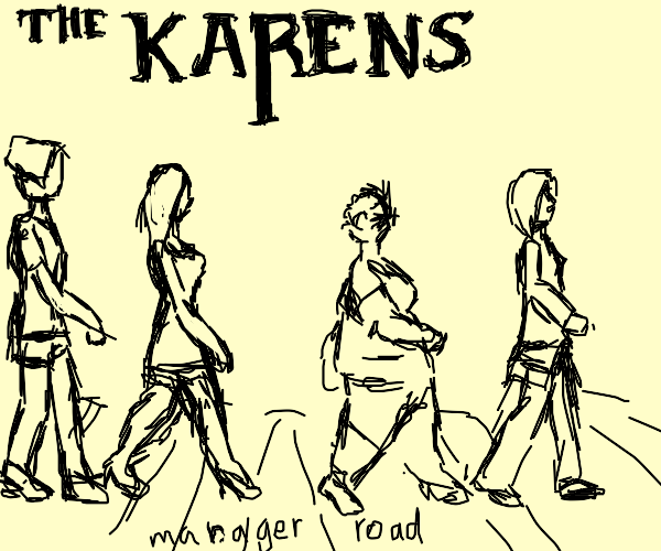the beatles as karens