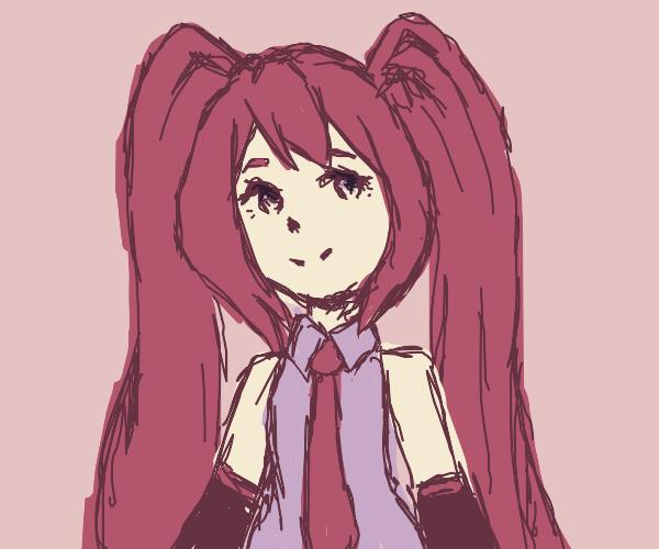 Pink Hatsune Miku