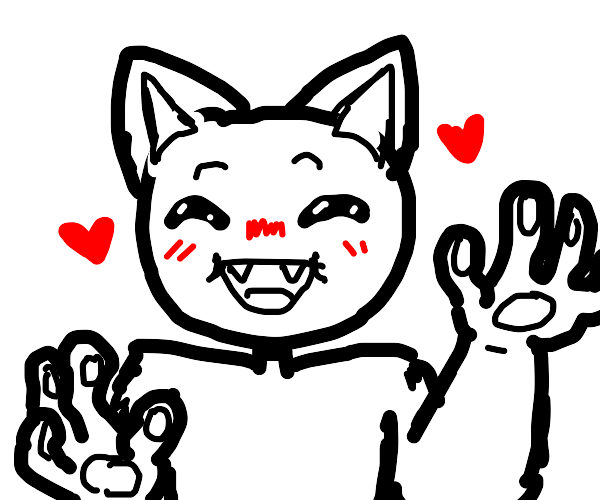 half furry man loves you