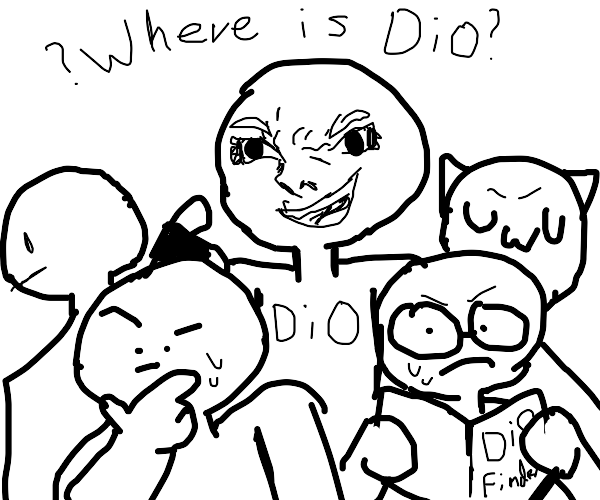 Me and the Boys looking for DIO