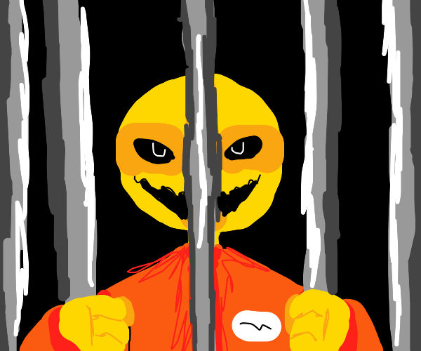 Prisoner is attracted to bars