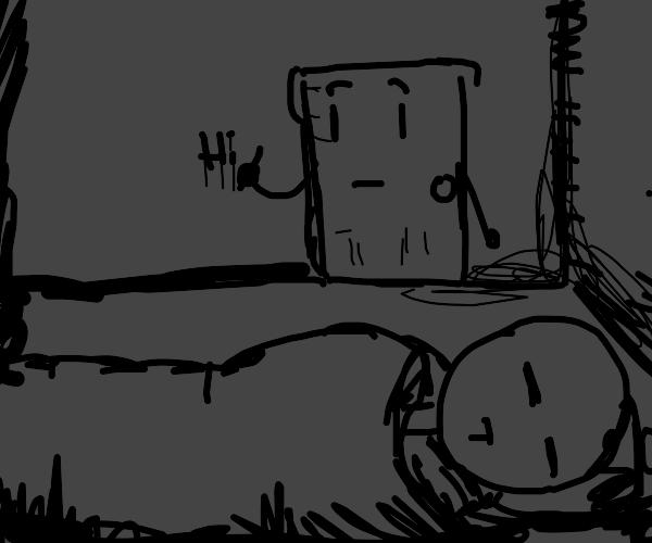 "Living door writes ""Hi""...While you asleep..."
