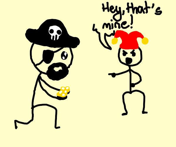 pirate finds fools gold
